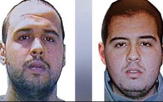 Atentado terrorista na Bélgica os irmãos Khalid (à esquerda) e Ibrahim (à direita) El Bakraoui (Foto: Reprodução)