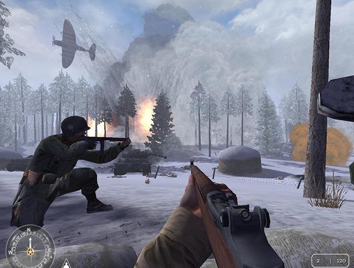 Call of Duty foi um dos responsáveis pelo fracasso das versões mais recentes de Medal of Honor (Foto: Divulgação)