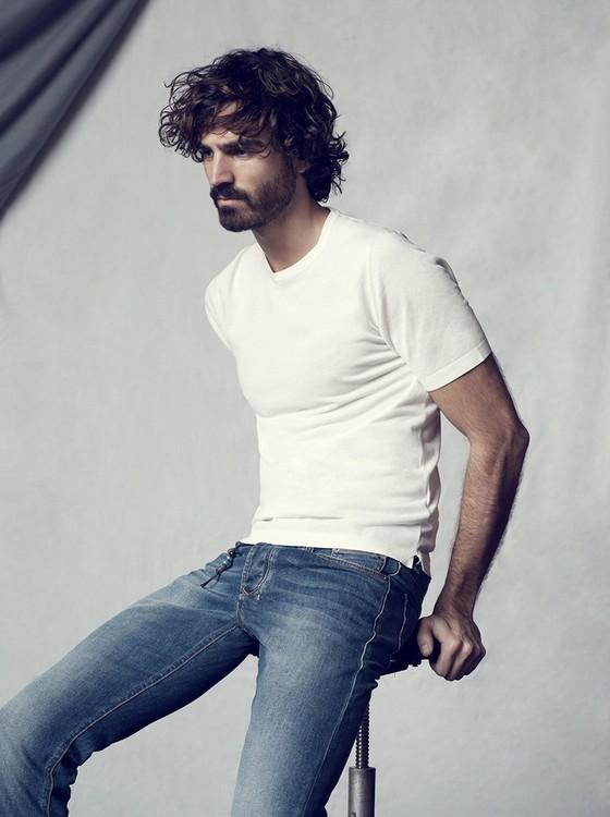 O modelo português Nuno Marques é o nome da vez na cena fashion internacional (Foto: Divulgação)