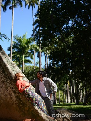 Herval faz visita surpresa e leva Verô para passear (Foto: Raphael Dias/TV Globo)
