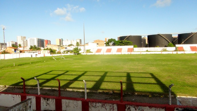 Campo da Pajuçara, antigo estádio do Pajuçara (Foto: Paulo Victor Malta/Globoesporte.com)