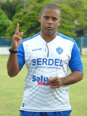 Wagner Nascimento segue como técnico do Vitória-ES para a Copa Espírito Santo 2017 (Foto: Henrique Montovanelli/Vitória-ES)