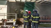 Incêndio atinge loja de frios na Zona Sul (Divulgação / Corpo de Bombeiros)