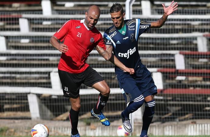 River Plate do Uruguai e Palmeiras (Foto: César Greco / Ag. Palmeiras / Divulgação)
