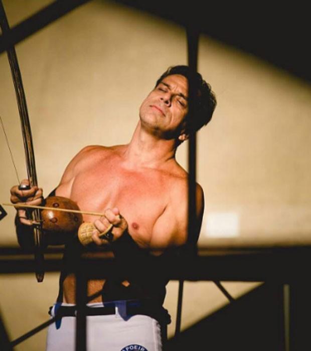 Na capoeira, Beto Simas é conhecido como Mestre Boneco (Foto: Reprodução/Instagram)