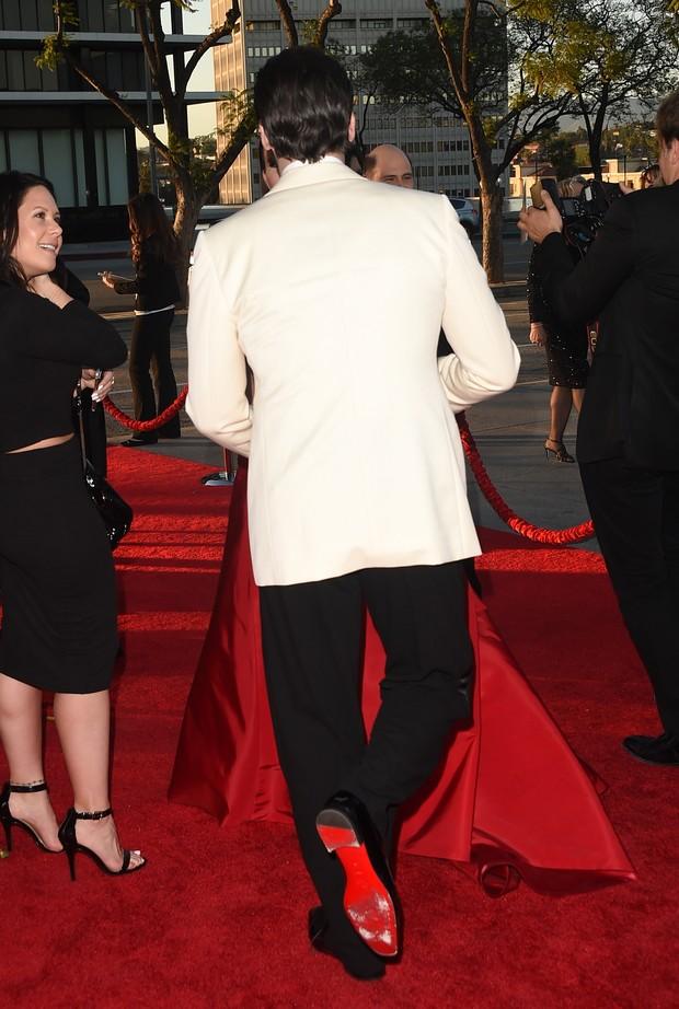 Jon Hamm na première da última temporada da Mad Men (Foto: AFP)