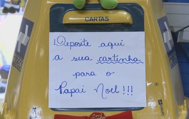 Cartinhas já podem ser adotadas em Porto Velho (Foto: Bom Dia Amazônia)