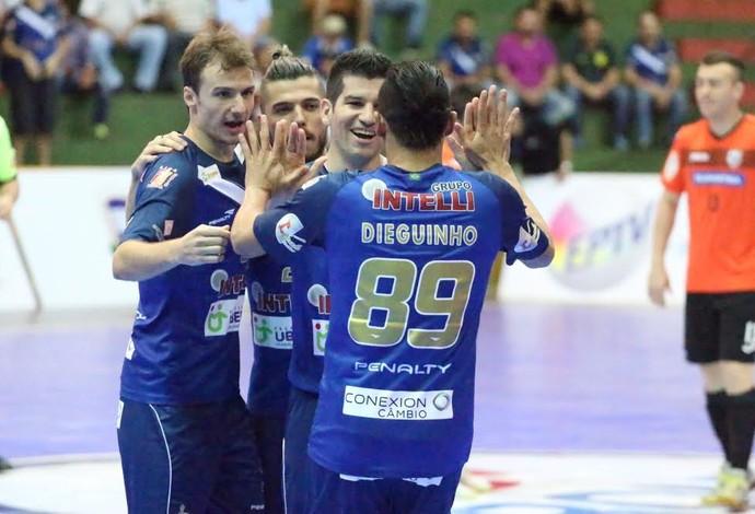 Orlândia Carlos Barbosa final liga nacional de futsal (Foto  Márcio  Damião Divulgação) 68a4d797e4fdb