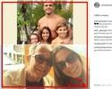 Joana Prado homenageia Vitor Belfort em Dia dos Pais nos Estados Unidos