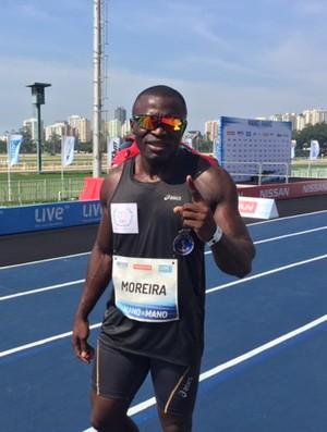 """Codó é o vencedor do desafio de atletismo """"Bolt contra o Tempo"""" (Foto: Amanda Kestelman)"""