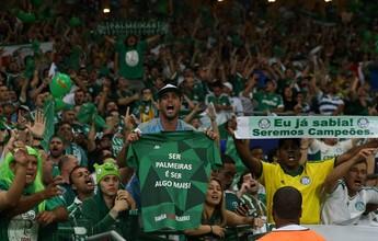 Palmeiras ultrapassa São Paulo e vira líder da média de público em 2017