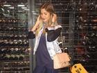Coleção de bolsas grifadas de Andressa Suita vale mais de R$ 100 mil