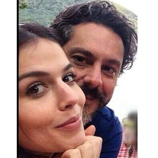 Karen Brustollin e Alexandre Nero (Foto: Divulgação/Divulgação)