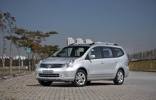 Chevrolet Spin E Nissan Grand Livina De Sete Lugares Somem Das Lojas