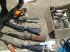 Homens são presos com armas e animais abatidos em São Francisco