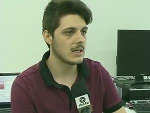 Felipe participou do projeto (Foto: Reprodução/RBSTV)
