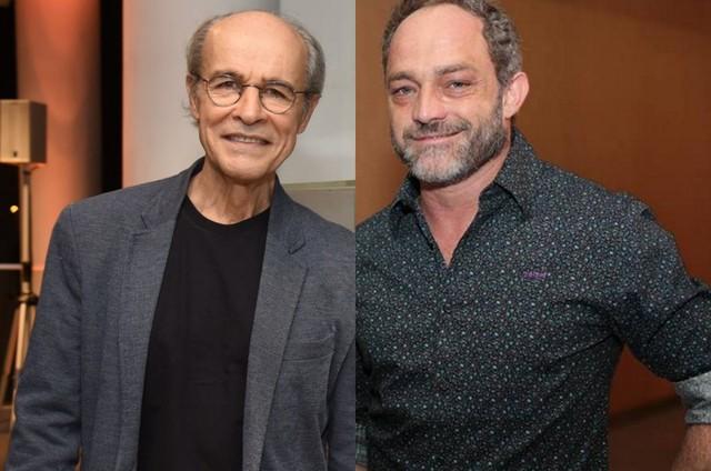 Osmar Prado e Eucir de Souza (Foto: TV Globo/Reprodução)