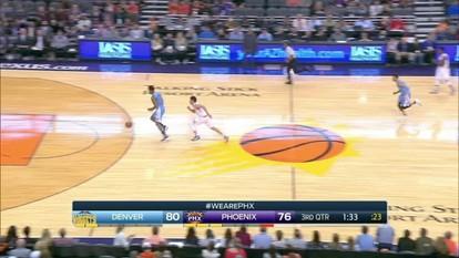 Melhores momentos: Denver Nuggets 120 x 114 Phoenix Suns pela NBA