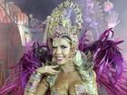 Mesmo veterana na Dragões, Cacau Colucci diz antes de desfile: 'Não dormi'