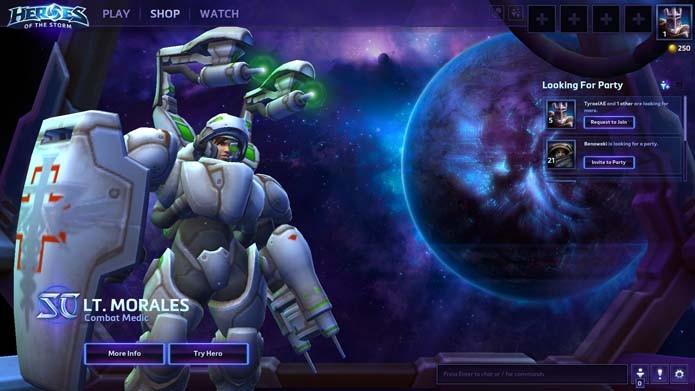 Abra o game e clique na aba Shop (Foto: Reprodução/Murilo Molina)