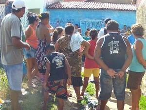 Morte por choque elétrico na comunidade do dendê (Foto: TV Verdes Mares/Reprodução)