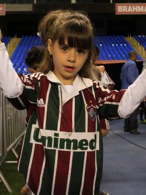 Torcedora do Fluminense (Foto: Nelson Perez / Fluminense F.C.)