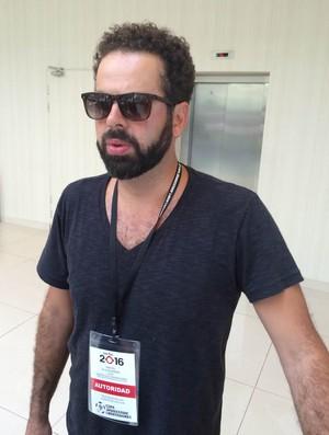 Daniel Nepomuceno, presidente do Atlético-MG (Foto: Alexandre Lozetti)