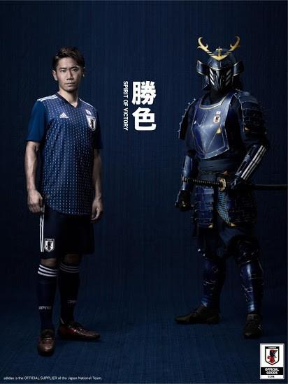 Uniforme do Japão para a Copa de 2018 (Foto: reprodução)