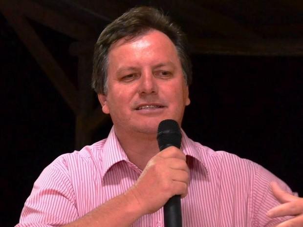 Laercio da Cruz foi eleito em Vidal Ramos (Foto: Reprodução/Facebook)