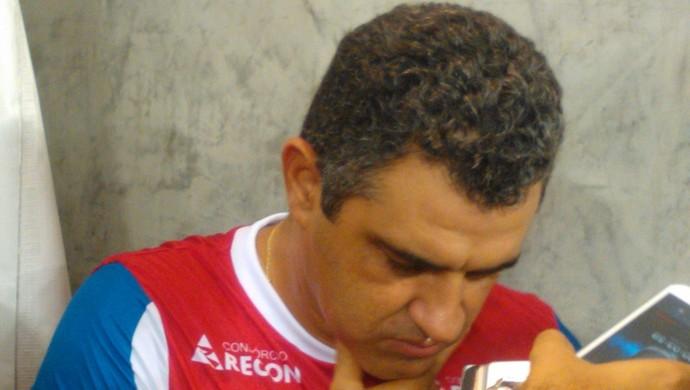 Marcelo Chamusca, Fortaleza (Foto: Juscelino Filho)