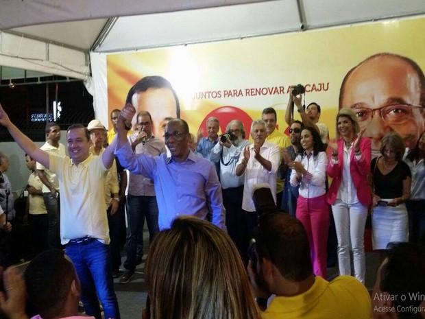 Valadares Filho confirma pré-candidatura à prefeitura de Aracaju  (Foto: Kedma Ferr/TV Sergipe)