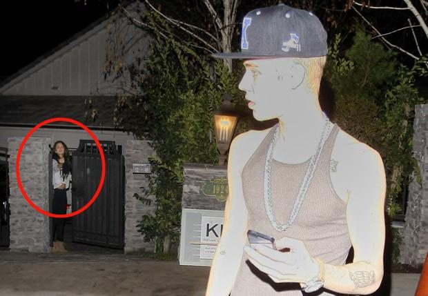 Selena Gomez e Justin Bieber (Foto: Grosby Group)