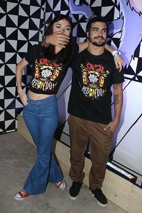Maria Casadeval e Caio Castro (Foto: Manuela Scarpa e Amauri Nehn / Photo Rio News)