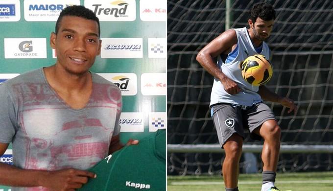 Preto Costa e Jéferson Paulista chegam para disputar o Mineiro 2016 pelo Tricordiano (Foto: Globoesporte.com)