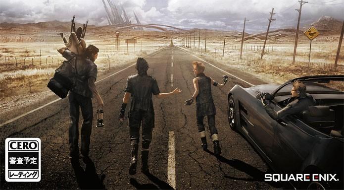 Final Fantasy 15 terá legendas e menus em português (Foto: Divulgação/Square Enix)
