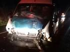 Batida no Paraná entre caminhão e van com pacientes deixa 13 feridos