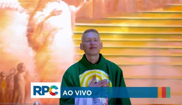 Padre Marcelo Rossi Paraná TV (Foto: Reprodução/ RPC)