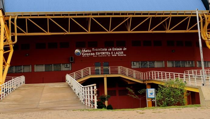 Ginásio Aecim Tocantins em Cuiabá (Foto: Marcos Vergueiro/Secom-MT)