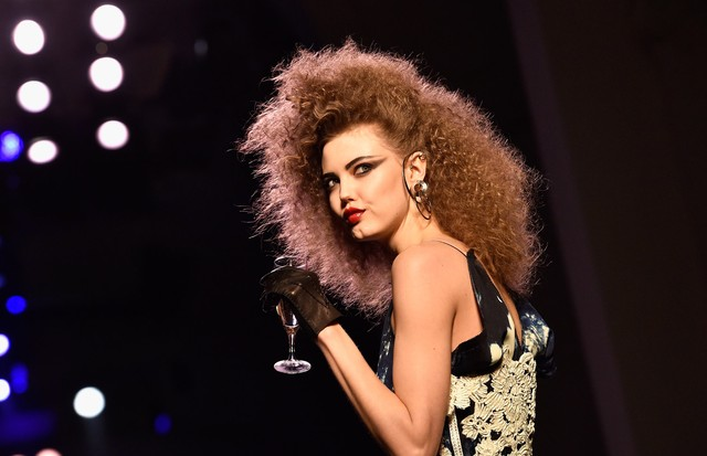 Lindsey Wixson para Jean Paul Gaultier (Foto: Getty Images)