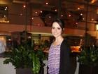 Depois de gravar o 'Superbonita', Sandy vai a restaurante no Rio