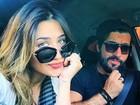 Jéssica Costa e Sandro Pedroso aparecem em foto romântica na web