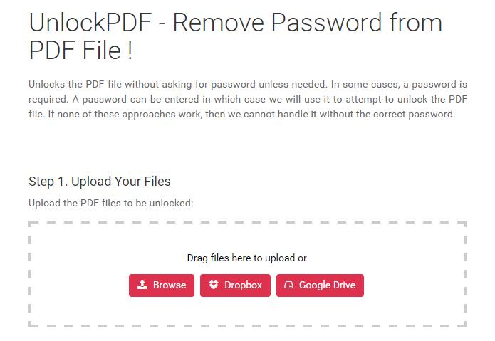FoxyUtils pede a senha do PDF, caso a tenha (Foto: Reprodução/Paulo Alves)