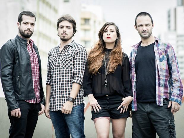 A banda atual de Pitty, que lança o disco 'Setevidas' (Foto: Divulgação / Daryan Dornelles)