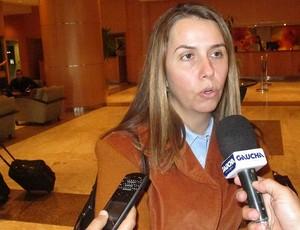patricia amorim flamengo   (Foto: Marcelo Baltar/Globoesporte.com)