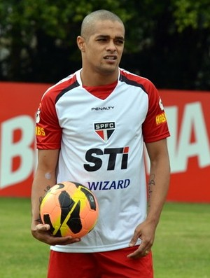 Welliton São Paulo (Foto: Site Oficial/saopaulofc.net)