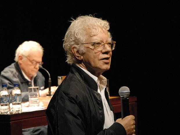 José Carlos Avellar em 2013, no lançamento de DVD sobre a obra de Graciliano Ramos (Foto: Ailton Silva/ Divulgação IMS)