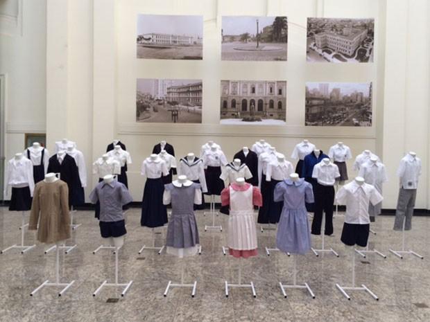 Uniformes foram recriados pelos alunos do curso de moda do Senac (Foto: Divulgação/Patrícia Golombek)