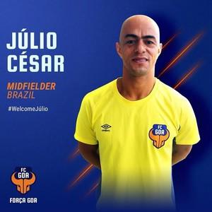 Júlio César reforço do FC Goa (Foto: Reprodução)
