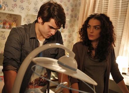 Ciça sente ciúmes de Rodrigo com Luciana