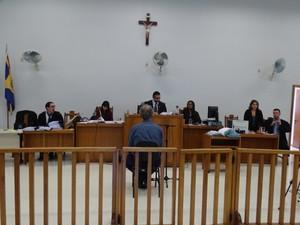 Delegado foi julgado no Fórum de Muriaé (Foto: Silvan Alves/Arquivo Pessoal)